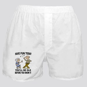 HAVE FUN NOW Boxer Shorts