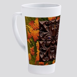 Harvest Moons Green Man 17 oz Latte Mug