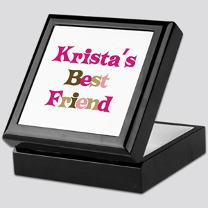 Krista's Best Friend Keepsake Box