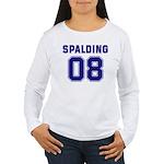 Spalding 08 Women's Long Sleeve T-Shirt