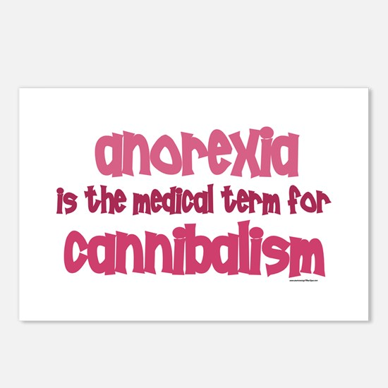 Medical Term 1.4 (Anorexia) Postcards (Package of