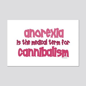 Medical Term 1.4 (Anorexia) Mini Poster Print