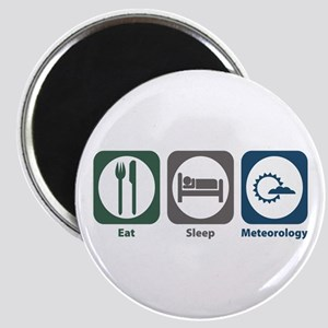 Eat Sleep Meteorology Magnet