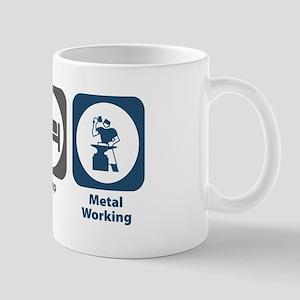 Eat Sleep Metal Working Mug