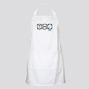 Eat Sleep Metal Detector BBQ Apron