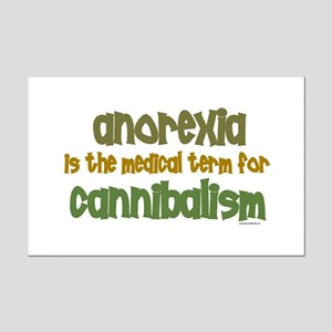 Medical Term 1.1 (Anorexia) Mini Poster Print