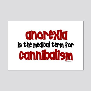 Medical Term 1.3 (Anorexia) Mini Poster Print