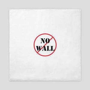 No wall, no deportations Queen Duvet