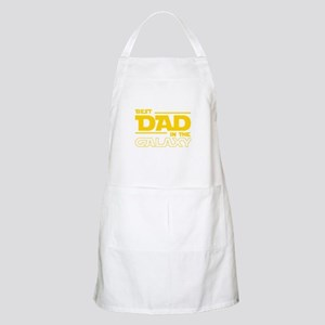 Best Dad In The Galaxy Light Apron