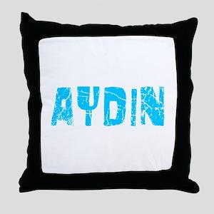 Aydin Faded (Blue) Throw Pillow