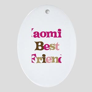 Naomi's Best Friend Oval Ornament