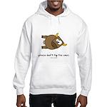 tip the cow Hooded Sweatshirt