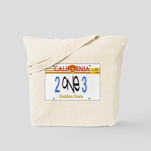 213 LINCENSE PLATE -- T-SHIRT Tote Bag