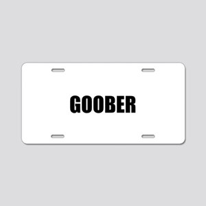 Goober Aluminum License Plate