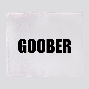 Goober Throw Blanket