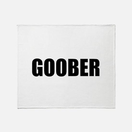 Goober Throw Blanket