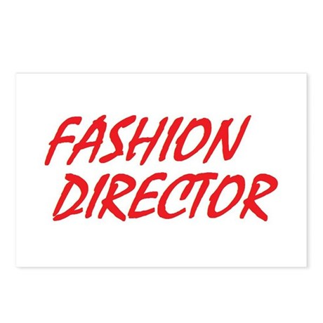 Fashion Director Postcards (Package of 8)