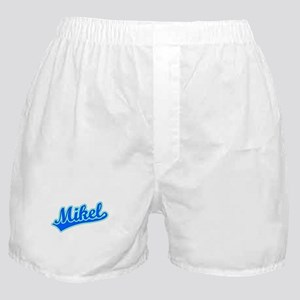 Retro Mikel (Blue) Boxer Shorts