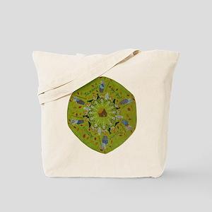 Baba Yaga Mandala Tote Bag