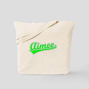 Retro Aimee (Green) Tote Bag