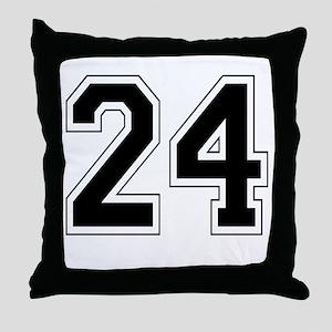 24 Throw Pillow