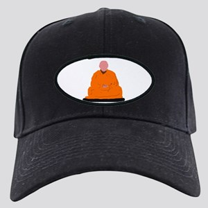 ZEN MONK Black Cap with Patch