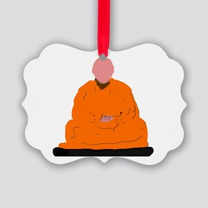 ZEN MONK Picture Ornament