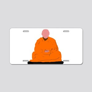ZEN MONK Aluminum License Plate
