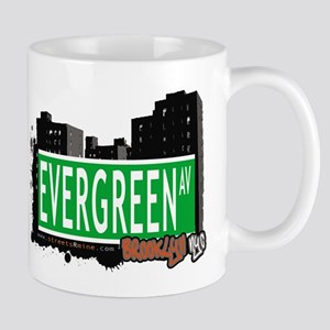 Evergreen Av, BROOKLYN, NYC Mug