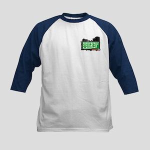 Evergreen Av, BROOKLYN, NYC Kids Baseball Jersey