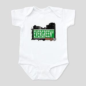 Evergreen Av, BROOKLYN, NYC Infant Bodysuit