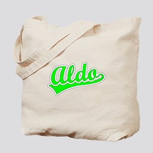 Retro Aldo (Green) Tote Bag