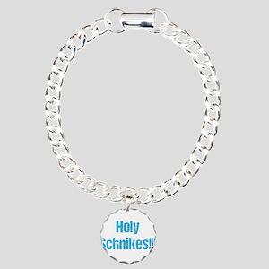 Holy Schnikes! Charm Bracelet, One Charm