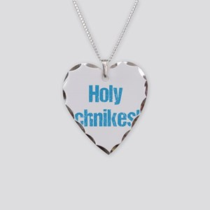 Holy Schnikes! Necklace Heart Charm