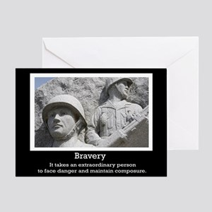 Bravery Greeting Card
