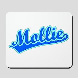 Retro Mollie (Blue) Mousepad