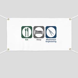 Eat Sleep Mechanical Engineering Banner