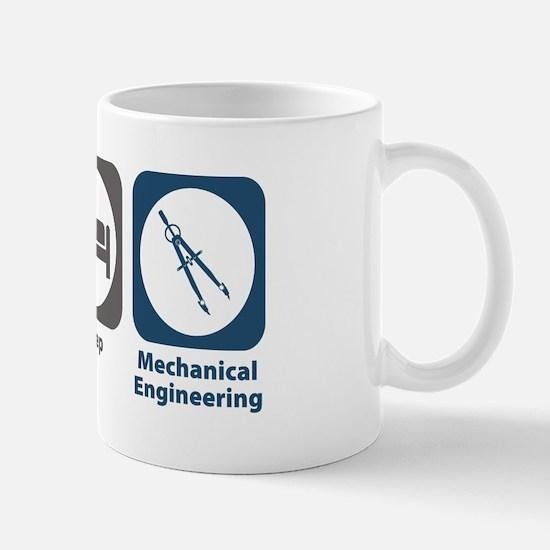 Eat Sleep Mechanical Engineering Mug