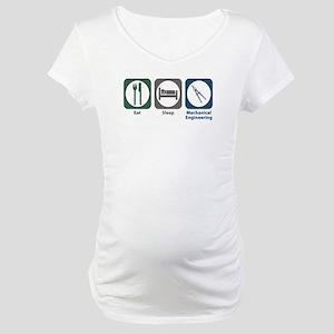 Eat Sleep Mechanical Engineering Maternity T-Shirt
