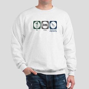 Eat Sleep Mechanical Engineering Sweatshirt