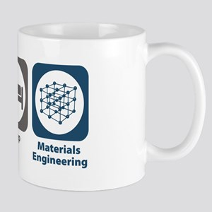Eat Sleep Materials Engineering Mug