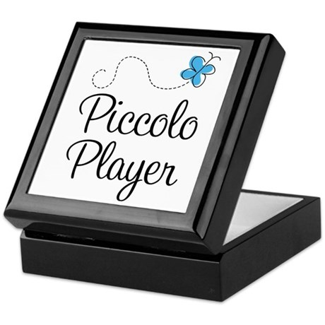 Butterfly Piccolo Player Keepsake Box