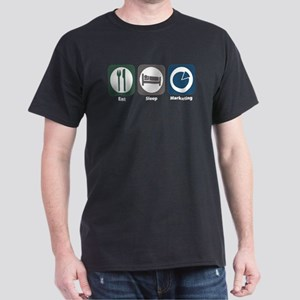 Eat Sleep Marketing Dark T-Shirt
