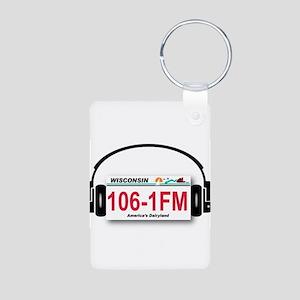 Wisconsin 106 Logo Keychains