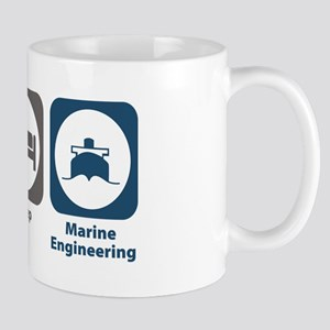 Eat Sleep Marine Engineering Mug