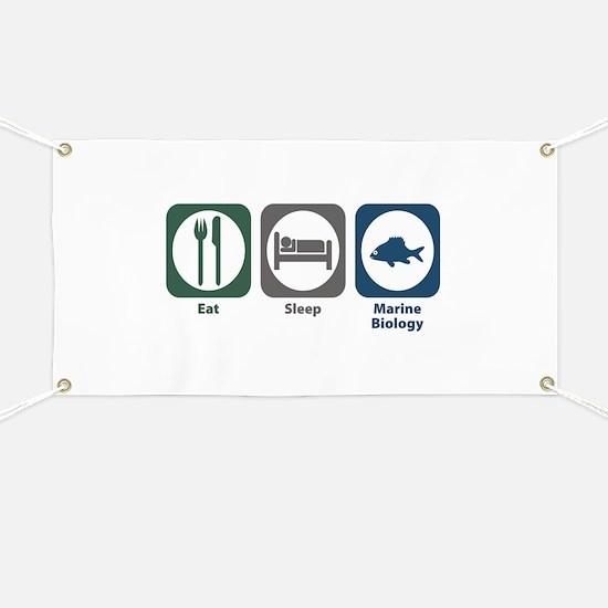 Eat Sleep Marine Biology Banner