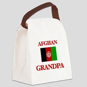 Afghan Grandpa Canvas Lunch Bag