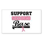 Support 2nd Base (v1) Rectangle Sticker 10 pk)