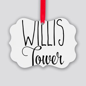 Willis Tower Picture Ornament