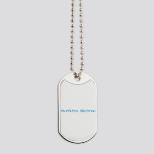 Landscape Architect Profession Design Dog Tags